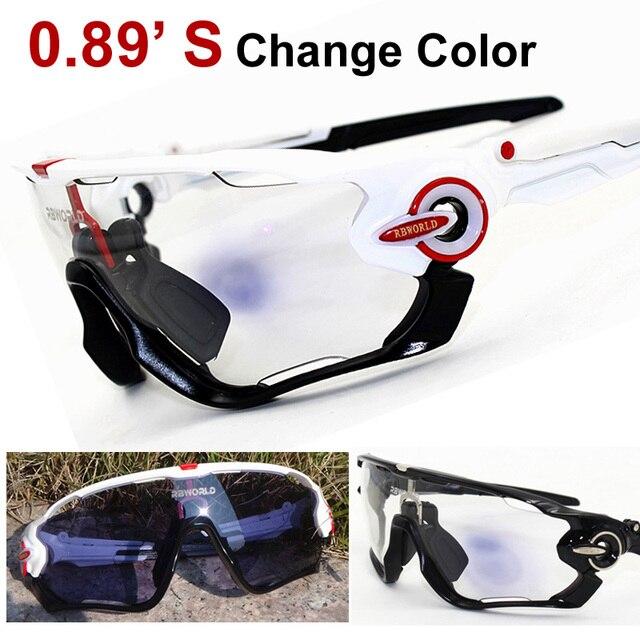 Photochromic Sunglasses Glasses Goggles Eyewear Lenses for Biking Running Gafas Oculos De Sol Brand Designer 2017 New
