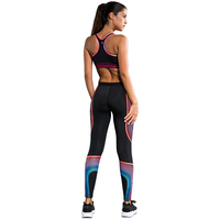 Women Fitness Sport Bras Elastic Compression Pants Tights Sports Yoga Set Female Suits Running Gym Yoga