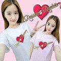 HPEIYPEI KPOP Moda Coreana de Terciopelo Rojo Álbum RULETA RUSA Algodón Camiseta K-POP T-shirt T-shirt PT201