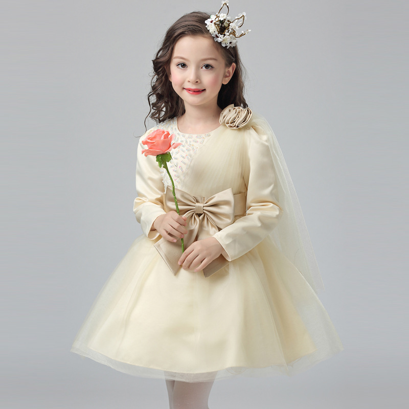 Evening Dresses Kids Clothes For Teen Girls Summer Fashion Lace Princess Birthday Party Dress Vestido Meninas Children Clothing