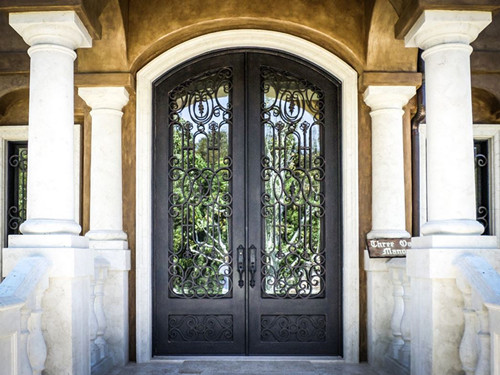 Double French Entry Doors Exterior Double Front Doors Front Entry Storm Doors