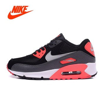 Original New Arrival Authentic NIKE Men's AIR MAX 90 ESSENTIAL Running Shoes Sport Outdoor Sneakers Good Quality 537384-006 1
