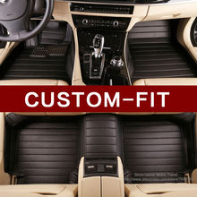 Custom fit voiture tapis de sol fait pour Mercedes Benz classe E W211 W212 S211 S212 E200 E220 E280 E300 E320 E350 tapis rus doublures