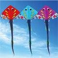 Envío de la alta calidad grande de pescado línea de cometas con mango rueda de surf kite pulpo weifang kite factory juguetes al aire libre