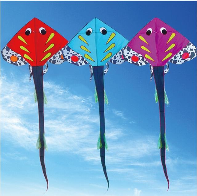 O envio gratuito de alta qualidade pipas com linha punho grande peixe polvo pipa weifang kite factory brinquedos ao ar livre voando roda de surf