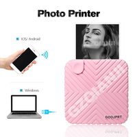 NEW! Peripage GOOJPRT Small Printer Bluetooth 4.0 for android ios mobile phone Pocket Photo Printer 58mm
