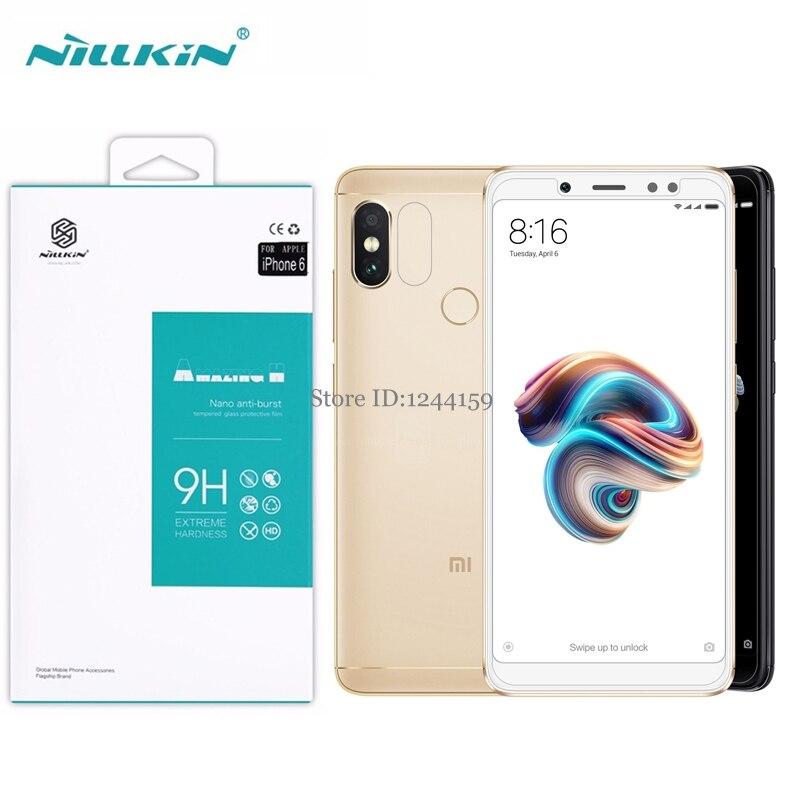 Original NILLKIN for Xiaomi Redmi Note 5 Note5 Pro screen protector Screen Protector Amazing 9H 0.33mm Film tempered glass