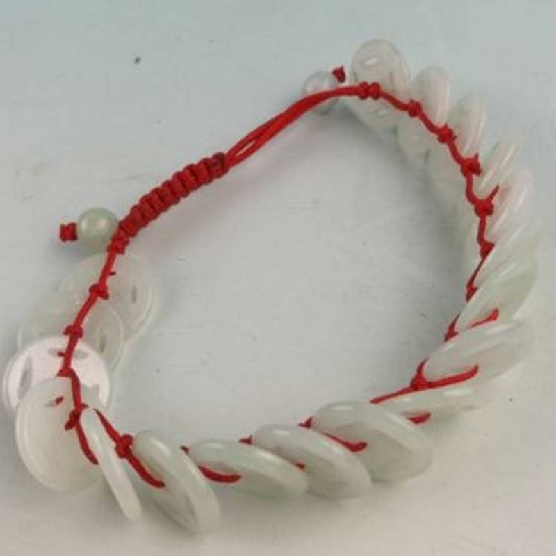Coins Charitable Fengashouw Products Of Natural Colors Handmade Chinese Fashion Bracelets Family Friends Bracelets Grades