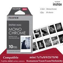 Fujifilm Instax Mini Pellicola In Bianco E Nero 10 Lenzuola per Instax Mini 9 8 7 s 70 90 25 Istantanea Polariod Camera smartphone Stampante SP 2 1