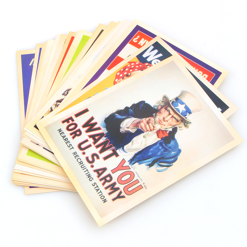 32pcsset Bookmarks 1014 Cm Vintage Style Ww2 Military Theme
