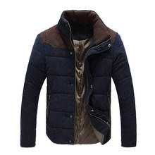 Autumn Winter Men Jacket 2018 New hot sale Brand Casual Mens Jackets And Coats Thick Parka Men Outwear Jacket Male Clothing XXL(China)