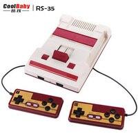 Hot Clássico NES Mini Consolas de jogos de Vídeo De 8 Bits Jogo controlador de Jogo USB construído em 232 Jogos TV Consolas de jogos para a Família Brinquedo jogo doubl