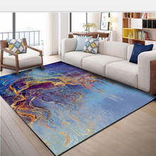 Simple abstract art living room carpet North European sofa coffee table mat Hotel home bedroom foyer full machine wash