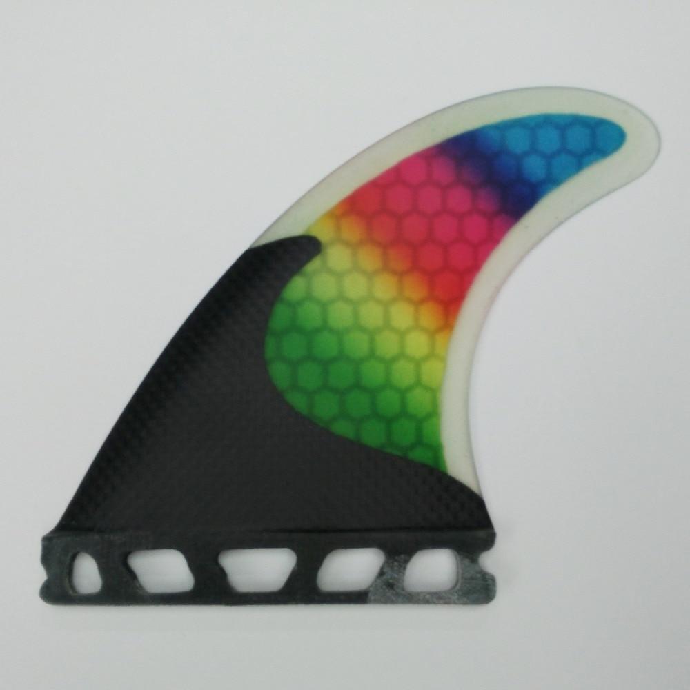 Carbon Fiber FCS / Future Fins Fiberglass G5 Fins Үш - Су спорт түрлері - фото 3