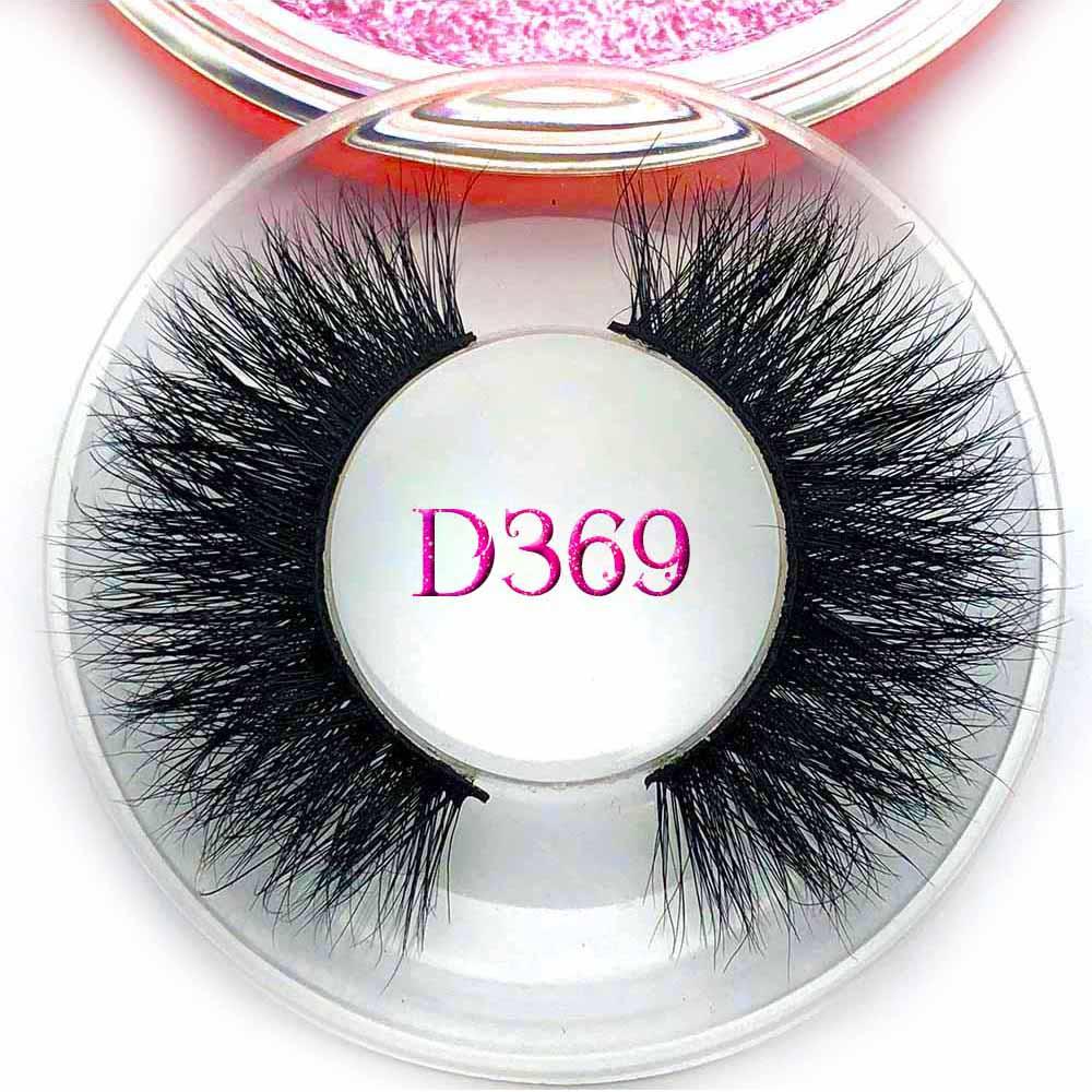 Mikiwi 3D Mink Eyelashes D369 Long Lasting Mink Lashes Natural Dramatic Volume Eyelashes Extension Faux Eyelash Thick Lashes