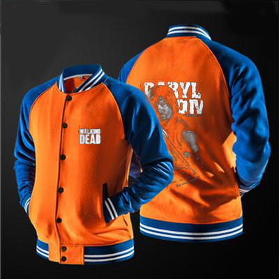 FIFAI  the new free shipping baseball jacket THE WALKING DEAD jacket Sweatshirts no hat, USA size.