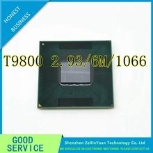 CPU laptop Core 2 Duo T9800 CPU 6M Cache/2.93GHz/1066/Dual-Core Socket 479 forGM45 PM45