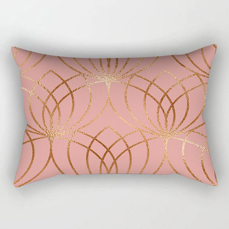 rose gold cushion cover14