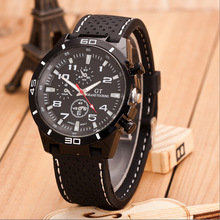 Men Watch Luxury Brand Outdoor Sports Men watches Silicone Strap Military Quartz Wrist Watches Clock Zegarki Meskie