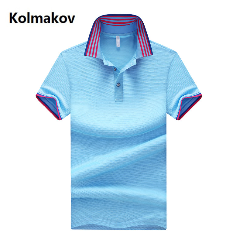 2019 high quality Brand Polos Mens POLO Shirts 100% Cotton Slim Fit Short Sleeve Men's Casual Male Polo Shirt M L XL 2XL 3XL 4XL