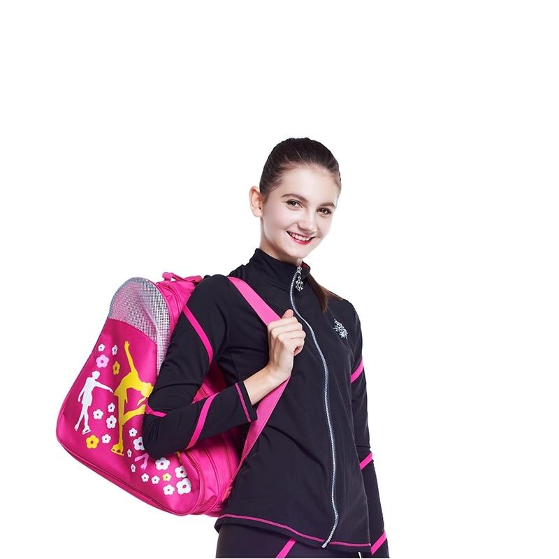 Free Shipping Ice Skate Bag Roller Skates Bag 42x40x27 Cm