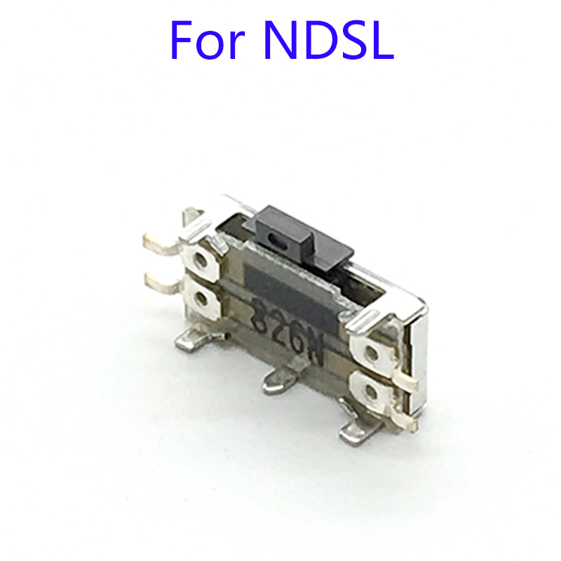 On Off Volume Switch Button Volume Adjustive Button Replacement For DS Lite For NDSL Game Console