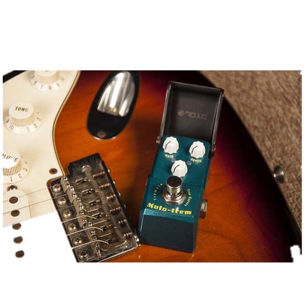 joyo guitar effects pedal analog chorus tremolo flanger phaser modulation effects pedals nature. Black Bedroom Furniture Sets. Home Design Ideas