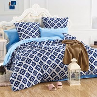 LILIYA 4 6Pieces Simple And Elegant Bedding Set Plain Pillowcase Sheet With Elastic Cozy Duvet Cover