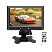Bluetooth 7″ Car Rear View Monitor Slim Dashboard Screen Support Car Video Audio FM Transmitter / MP5 / USB / Micro SD Card Slot
