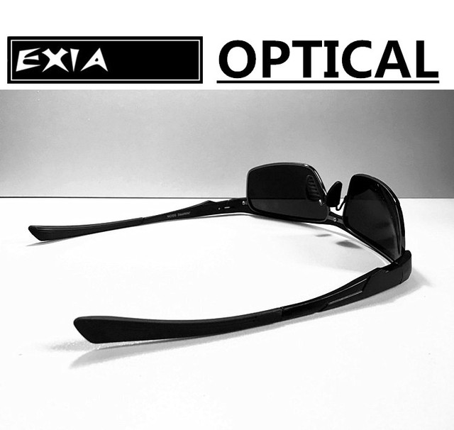 9d439c1ab5 Optical Sunglasses Men Fashion Spectacle with Polarized Grey Lenses EXIA  OPTICAL KD-180 Series