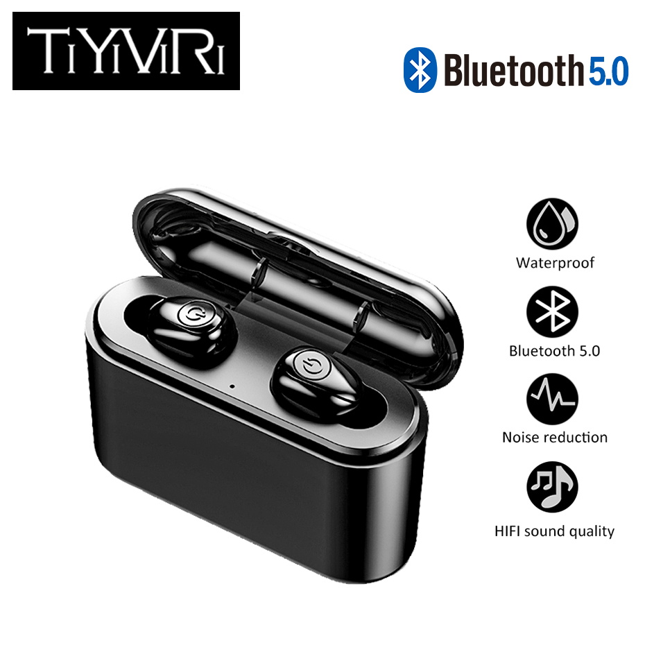 Bluetooth Earphones True Wireless Earbuds X8 TWS Sports Earphone Stereo Bass Headset Noise Cancelling for IOS And Android Phones in Bluetooth Earphones Headphones from Consumer Electronics