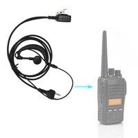 talkie walkie 2 עבור אוזניות אפרכסת פין PTT EarHook אוזניות MIC MIDLAND G6 / G7 / G8 / G9 GXT550 GXT650 LXT80 LXT110 LXT112 Talkie Walkie (2)