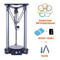 Anet 3D Printer Pulley Version Linear Guide DIY Kit Metal Kossel Delta 3D Printer Smart Leveling