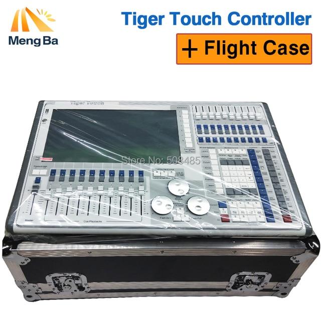 2018 новые Тигр touch 10,0/10,1 контроллер системы большой наружного освещения сцены контроллер DJ оборудование с кейс