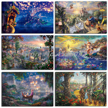 Thomas Kinkade HD Portrait Wall Art Canvas Poster And Print Painting Decorative Picture For Office Living Room Home Decor