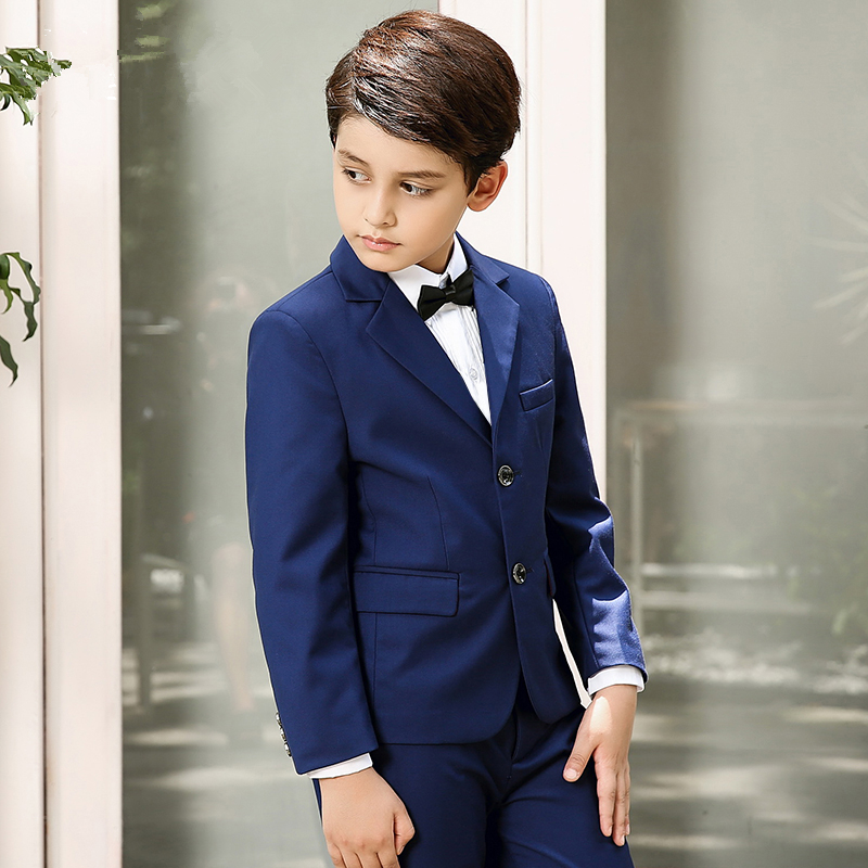 Boys suits for weddings Blue Kids Prom Suits Wedding Suits Kids ...