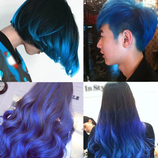 Sex Blue Disposable Hair Color Wax Dye One Time Molding Paste Sliver Grandma Green Hair Dye Wax Mud Cream In Creams Gels Lotions From Beauty