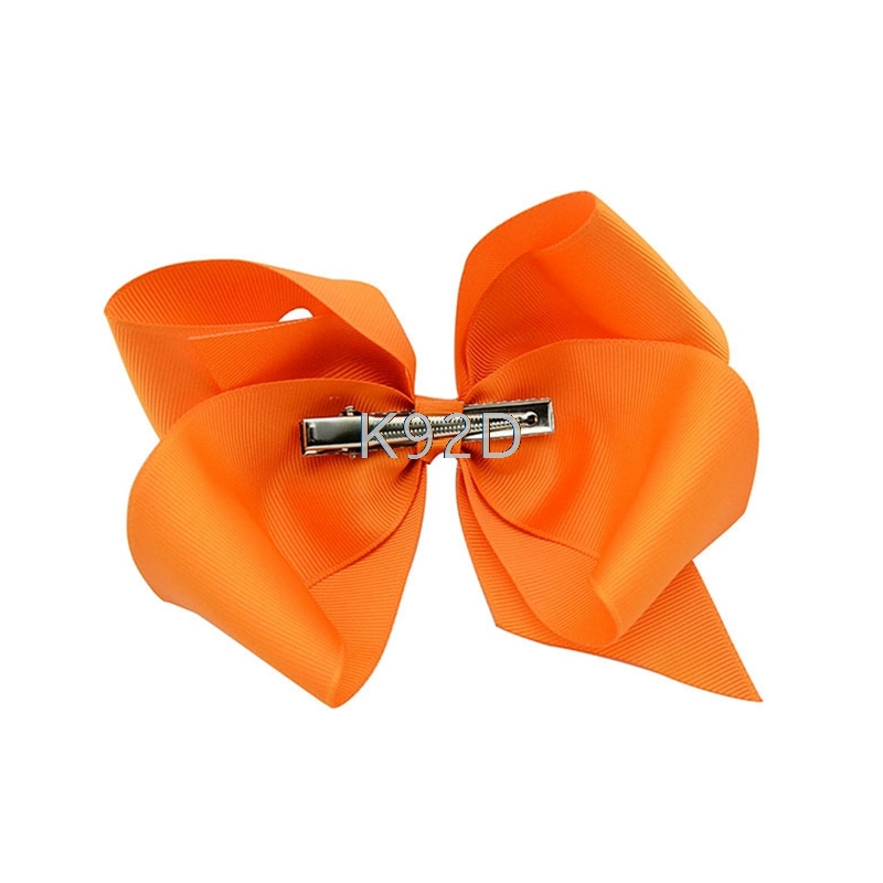 Baby Big Hair Bows Boutique Girls Alligator Clip Grosgrain Ribbon Lovely 10PCS/SET N06