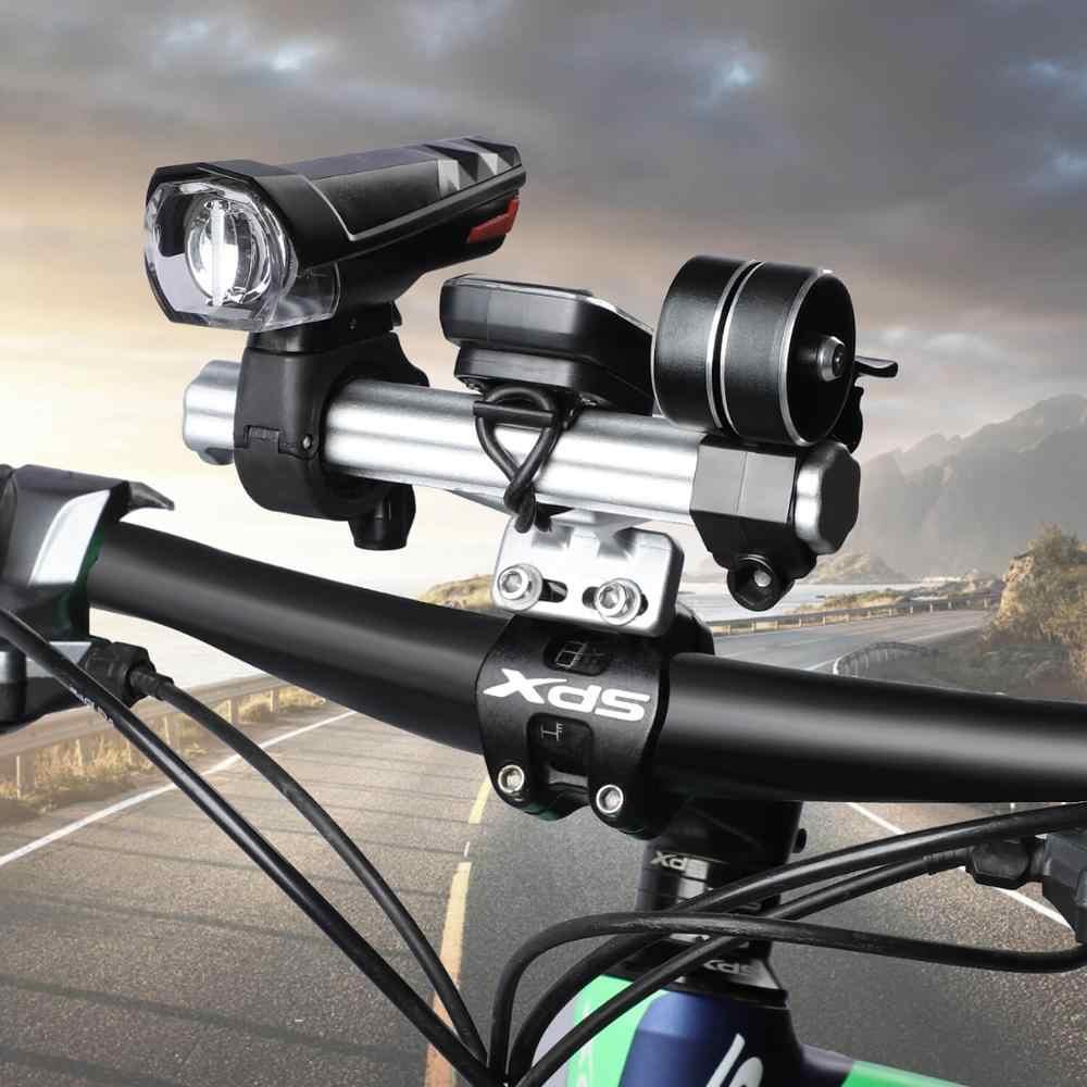 Bike Flashlight Holder Handlebar Bicycle Accessories Extender Mount BrackeBRUS