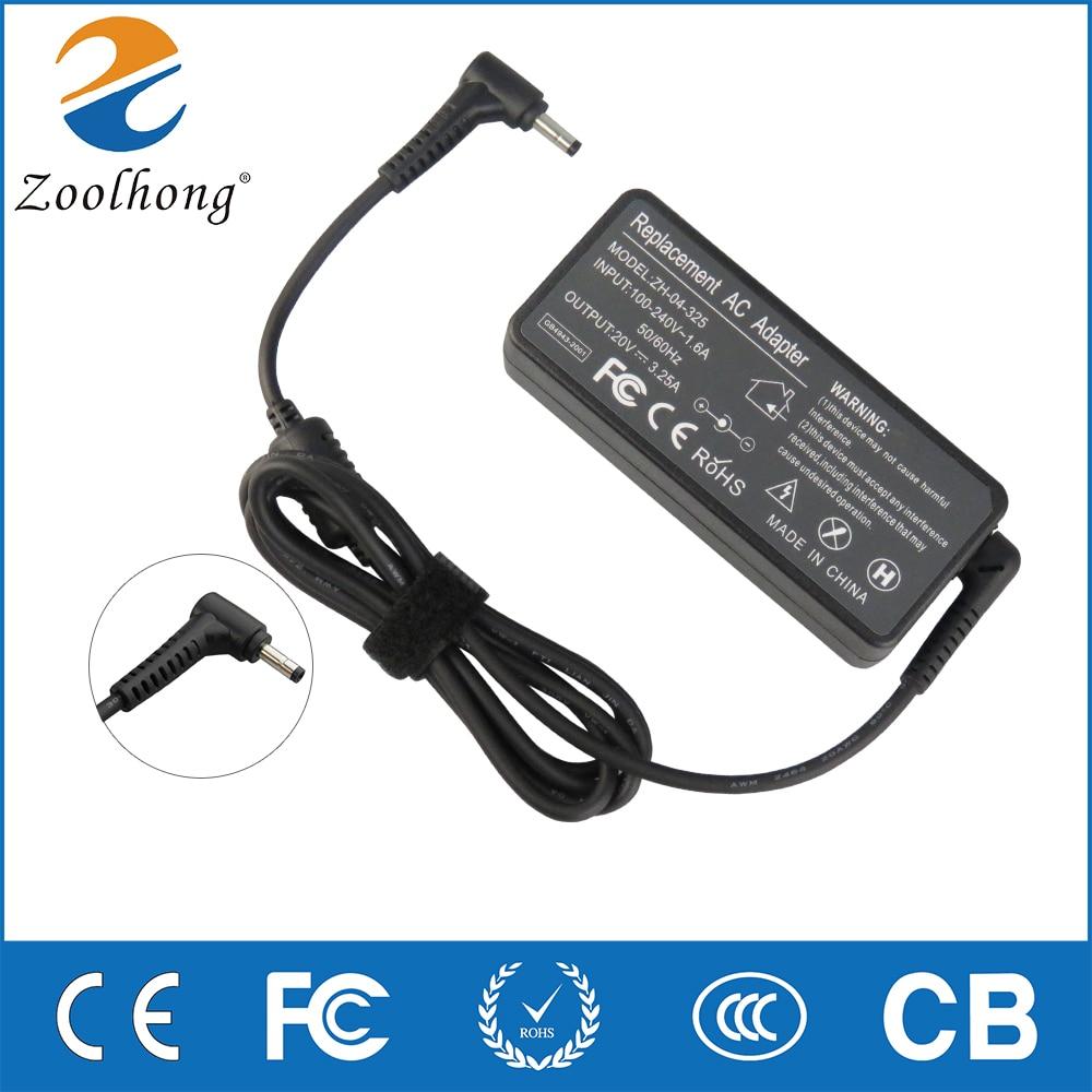 20 V 2.25A 3.25A 45 W 65 W 4.0*1.7 AC chargeur pour ordinateur portable Pour Lenovo Ideapad 100S-14 15 Yoga510 710 s 310S-14 110 100 Flex 4 5A10K78750