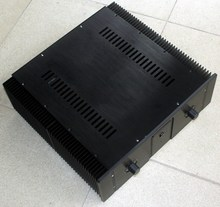 New aluminum amp chassis /home audio amplifier case (size 410 * 440 * 150M)