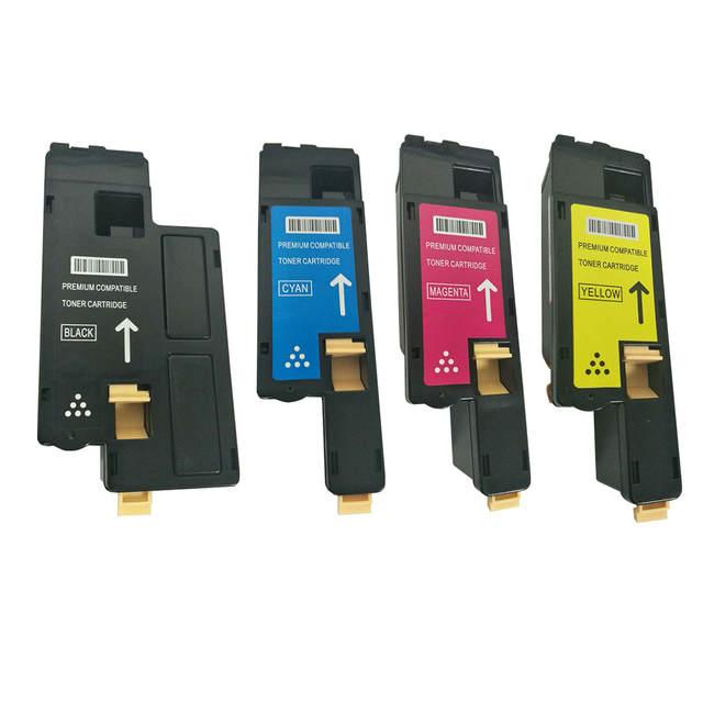 4PK (CT202264-7) Toner cartridge for Fuji Xerox DocuPrint CM115w CM115  CM225w CM225 CP115w CP115 CP116w CP225W CP225 Printers