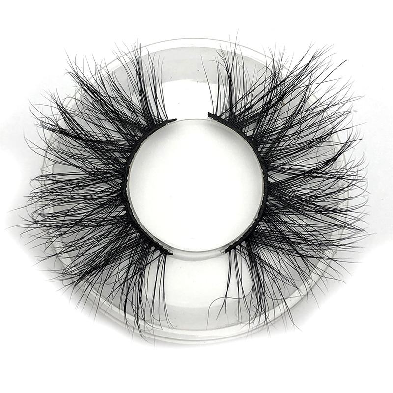Image 4 - Mikiwi 25mm 3D Mink Lashes E04 100% Cruelty free Thick soft Natural 25mm Mink Lashes False Eyelashes Makeup Dramatic Long Lashes-in False Eyelashes from Beauty & Health