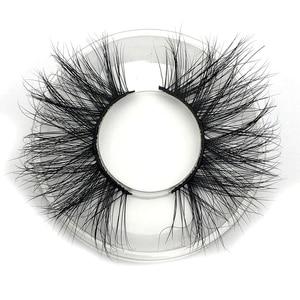 Image 4 - Mikiwi 25mm 3D Mink Lashes E04 100% Cruelty free Thick soft Natural 25mm Mink Lashes False Eyelashes Makeup Dramatic Long Lashes