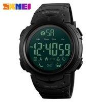 SKMEI Reloj de Los Hombres Relojes Deportivos 50 M Impermeable Bluetooth SmartWatch Inteligente Podómetro recordatorio de Llamadas Cronómetro Reloj para Android IOS