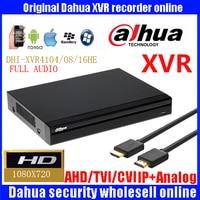 Original Dahua XVR 4 8 16 Ch 720P 1U Security DH XVR4104HE DH XVR4108HE DH XVR4116HE