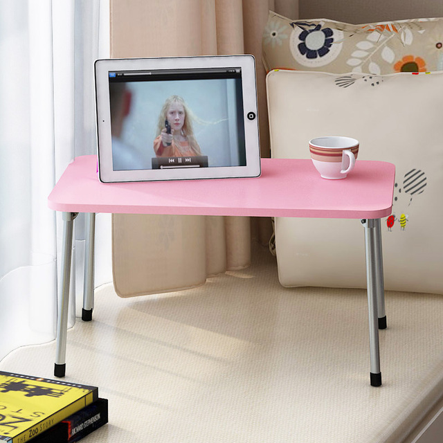 Fashion Computer Desks Portable Folding Laptop Table Sofa Bed Office Stand Desk Notebook