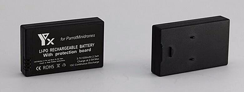 1 xUSB Ladegerät + 1x2x3x4x630 mah Batterie für Parrot Minidrones Mambo Schaukel...