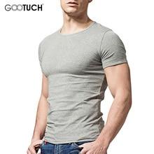 Для Мужчин's Майки короткий рукав Для мужчин s футболка мужской о Средства ухода за кожей шеи майка Hombre футболки 4XL 5XL 6XL K-8922