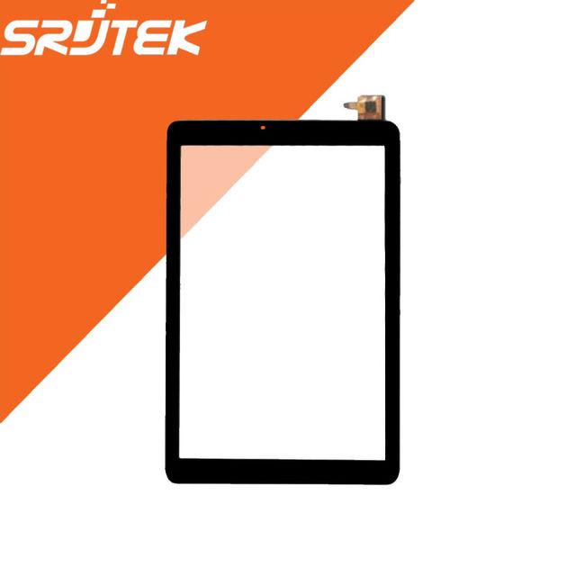 Texted 10.1'' Front Glass For YJ427FPC-V0 YJ427FPC Tablet Touch Screen Panel Digitizer Sensor Replacement Parts For Black